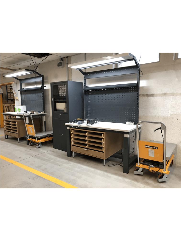 Aménagement ergonomique de postes de travail