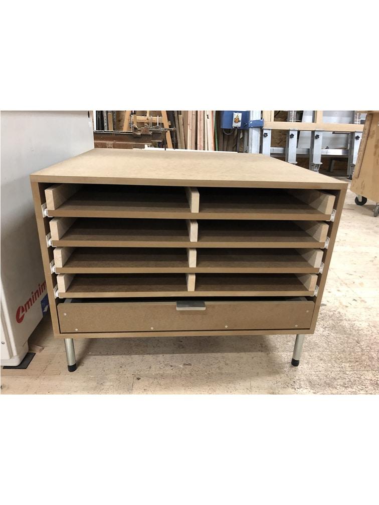 Réalisation sur-mesure de meubles bois